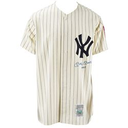 """Mickey Mantle Signed """"No. 7"""" Inscribed New York Yankees Cooperstown Jersey"""