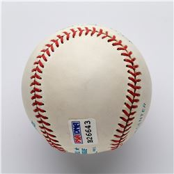 Bill Dickey Single Signed Baseball