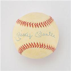 """Willie, Mickey and The Duke"" Multi-Signed Baseball"