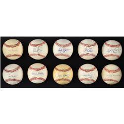 "Major League ""300 Win Club"" Single Signed Baseball Collection (10)"