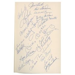 1961 New York Yankees Team-Signed 1987 Hardcover First Edition of 'Sixty-One' (Signed by 23)