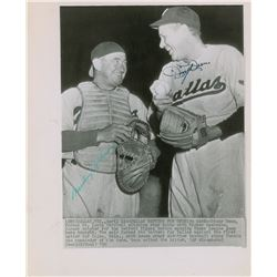 Mickey Cochrane and Dizzy Dean 1930s Signed Photograph
