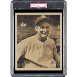 Lou Gehrig Signed Type 1 Photograph - PSA/DNA