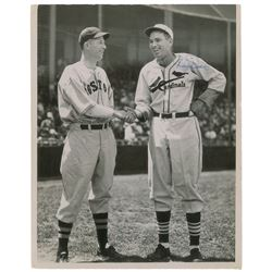 Lefty Grove and Dizzy Dean Signed Photograph
