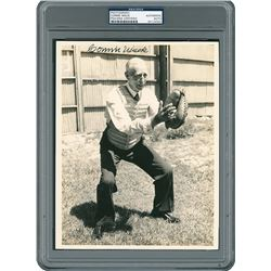 Connie Mack Signed Photograph - PSA/DNA