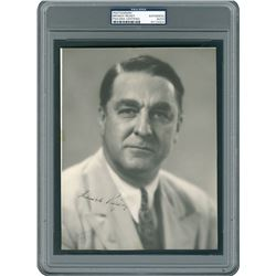 Branch Rickey Signed Photograph - PSA/DNA