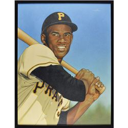 Roberto Clemente Original Painting by Arthur K. Miller