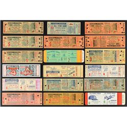 1930's-50's New York Yankee World Series Proof and Phantom Ticket Collection (18)