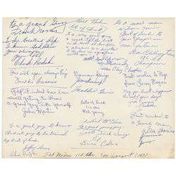 Cassius Clay 1959 Golden Gloves Signed Photograph