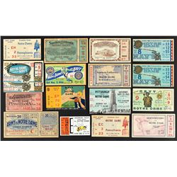 1920's-60's Massive College Football Ticket and Stub Collection (Nearly 400) with Army/Navy (21) and