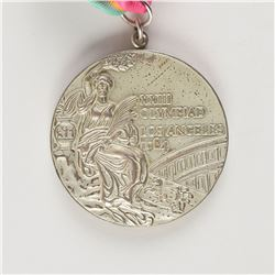 Los Angeles 1984 Summer Olympics Silver Winner's Medal