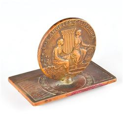 Los Angeles 1932 Summer Olympics Bronze Participation Medal