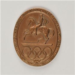 Stockholm 1956 Summer Olympics Bronze Participation Medal