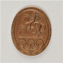 Stockholm 1956 Summer Olympics Bronze Participation Medal