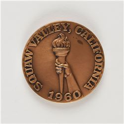 Squaw Valley 1960 Winter Olympics Participation Medal
