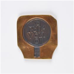 Sarajevo 1984 Winter Olympics Bronze Participation Medal