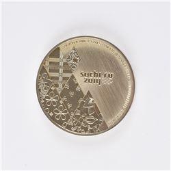 Sochi 2014 Winter Olympics Steel Participation Medal