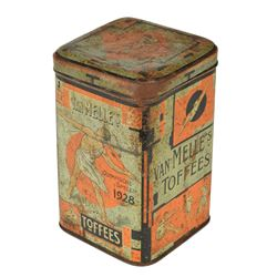 Amsterdam 1928 Summer Olympics Candy Tin