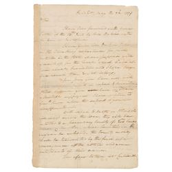 George Washington 1779 Signed Letter - Revolutionary War Dated