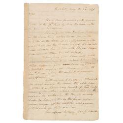 George Washington 1779 Signed Letter - Revolutionary War Dated