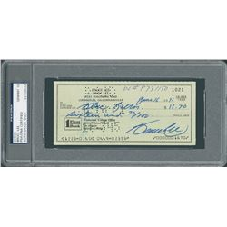 Bruce Lee 1971 Signed Personal Check - PSA/DNA GEM MINT 10
