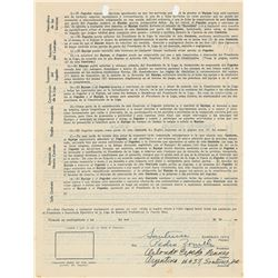 Orlando Cepeda 1956 Puerto Rico Winter League Signed Player Contract