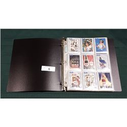 COLLECTION OF 90 PEPSI-COLA TRADING CARDS IN BINDER