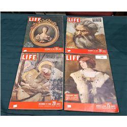 1947, 1948, & 1949 LIFE MAGAZINES