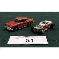 ROADSTER HOT ROD CAR HOTWHEELS 1979 & '57 CHEVY HOTWHEELS CAR