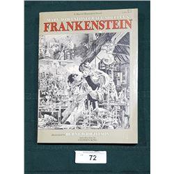1983 FRANKENSTEIN SOFT COVER BOOK