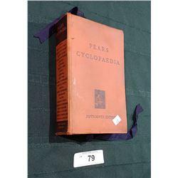 1949 PEARS CYCLOPEDIA HARD COVER BOOK