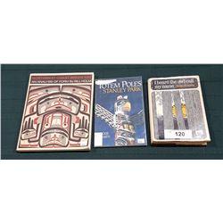 THREE NATIVE BOOKS