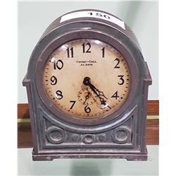 VINTAGE CHIME CALL CLOCK