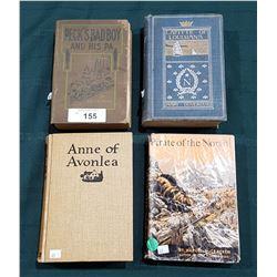 FOUR VINTAGE BOOKS