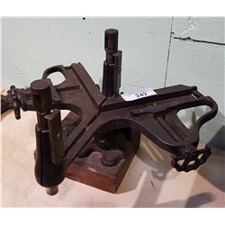 EARLY MULTI FUNCTION CARPENTRY VISE