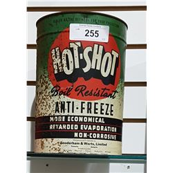 HOT-SHOT ANTIFREEZE 1 GALLON CAN
