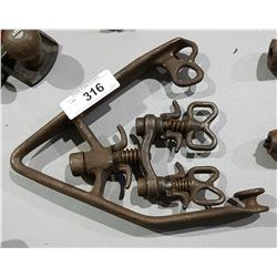 1925 BELL SYSTEM TOOLS USED FOR TELEPHONE/TELEGRAPH LINE CONSTRUCTION