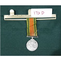 WWII BRITISH COMMONWEALTH (CANADIAN) THE DEFENCE MEDAL