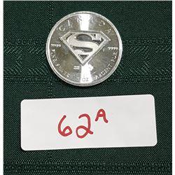 2016 1 OUNCE .9999 FINE SILVER SUPERMAN COIN