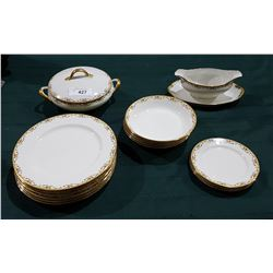 16 PCS OF LIMOGES CHINA