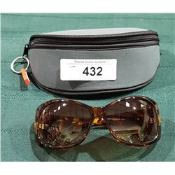 "NEW RYDERS ""CELESTE"" SUNGLASSES W/CASE"