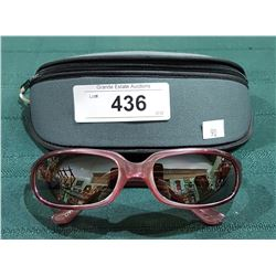 "NEW RYDERS ""SKEENA"" SUNGLASSES W/CASE"