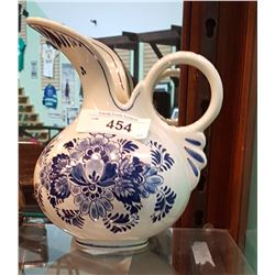 VINTAGE DELFT PITCHER