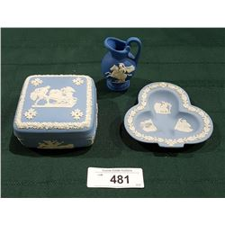 3 PCS OF CELLECTIBLE JASER WARE