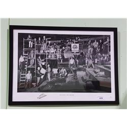 """OFFICIAL NHL CANNUCKS """"BUILDING THE DREAM"""" PRINT, LIMITED EDITION, 8379/21123"""