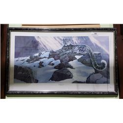 """FRAMED LIMITED EDITION RUSSELL COBANE PRINT 636/850 TITLED """"HIMALAYAN MAJESTY"""""""