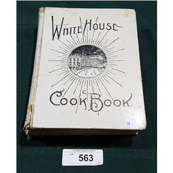 ANTIQUE 1913 WHITEHOUSE COOKBOOK HARDCOVER ILLUSTRATED