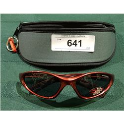 """NEW RYDERS """"GRIND"""" SUNGLASSES W/CASE"""