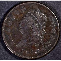 1810 LARGE CENT, VF a few scratches obv
