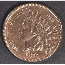 1876 INDIAN CENT, CH BU
